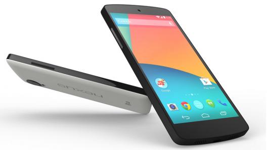 nexus 5 mit android & gps navigation