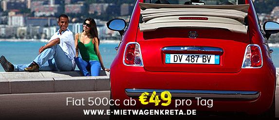 Fiat 500cc Angebot