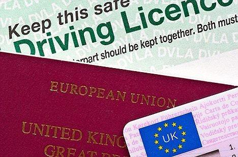 Erforderlichen Unterlagen wie Führerschein & Reisepass für das Fahren auf Kreta