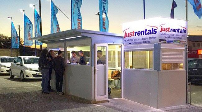 Lokale Autovermietung in Heraklion Flughafen