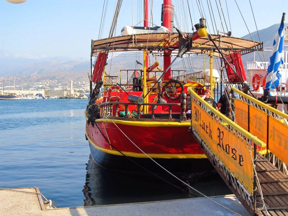 hersonissos boat trip
