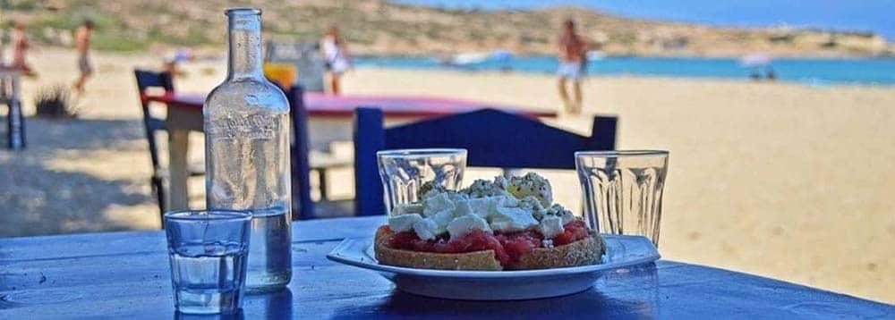 Taverne mit traditioneller kretischer Küche Kreta