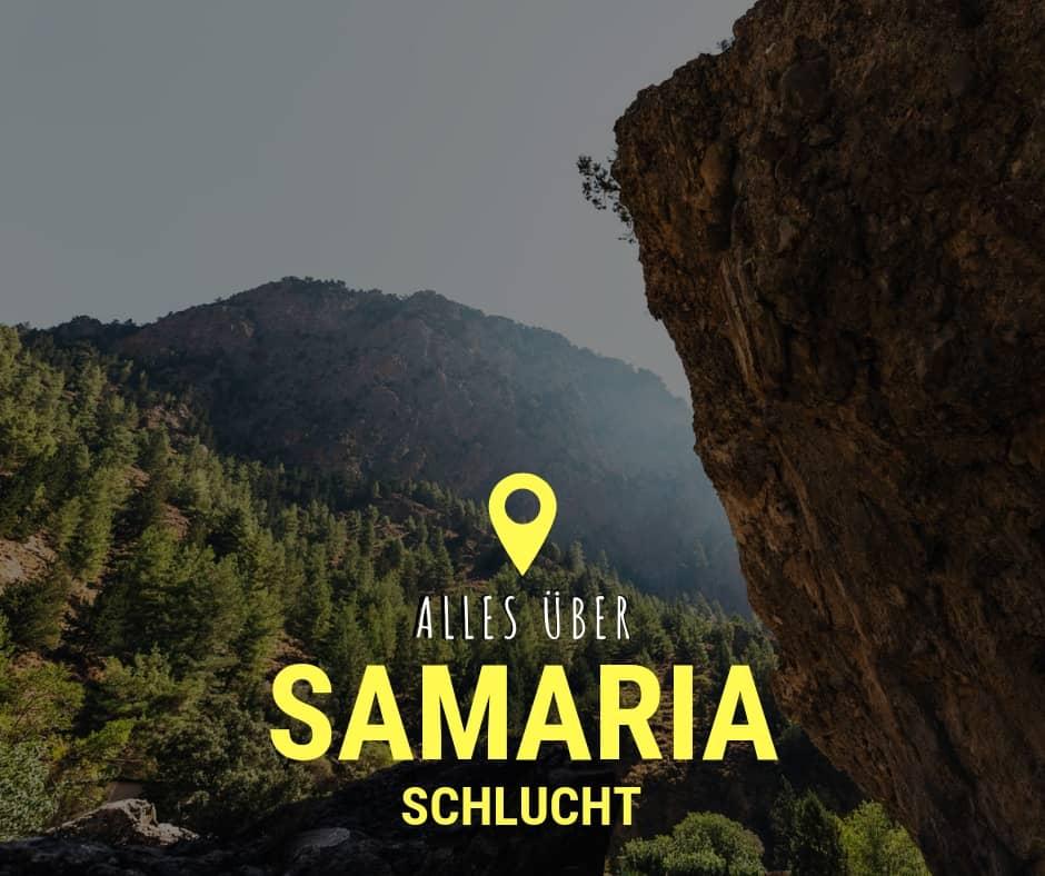 Samaria Schlucht