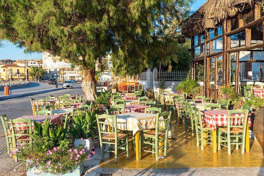 Tavernen und Restaurants in Paleochora