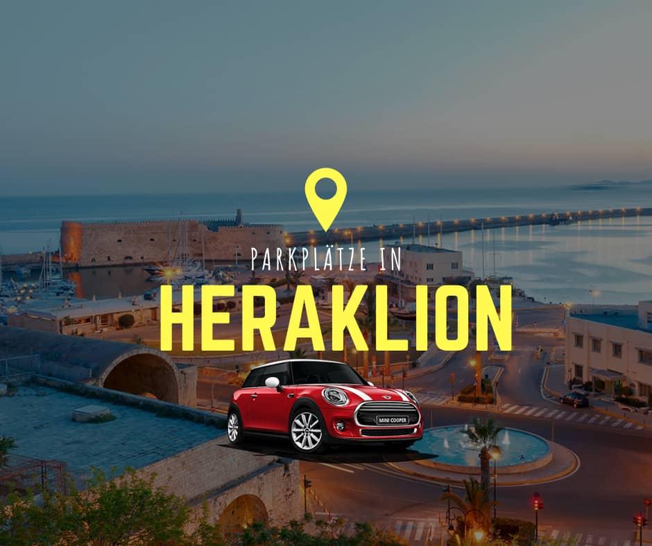 Parkplätze in Heraklion