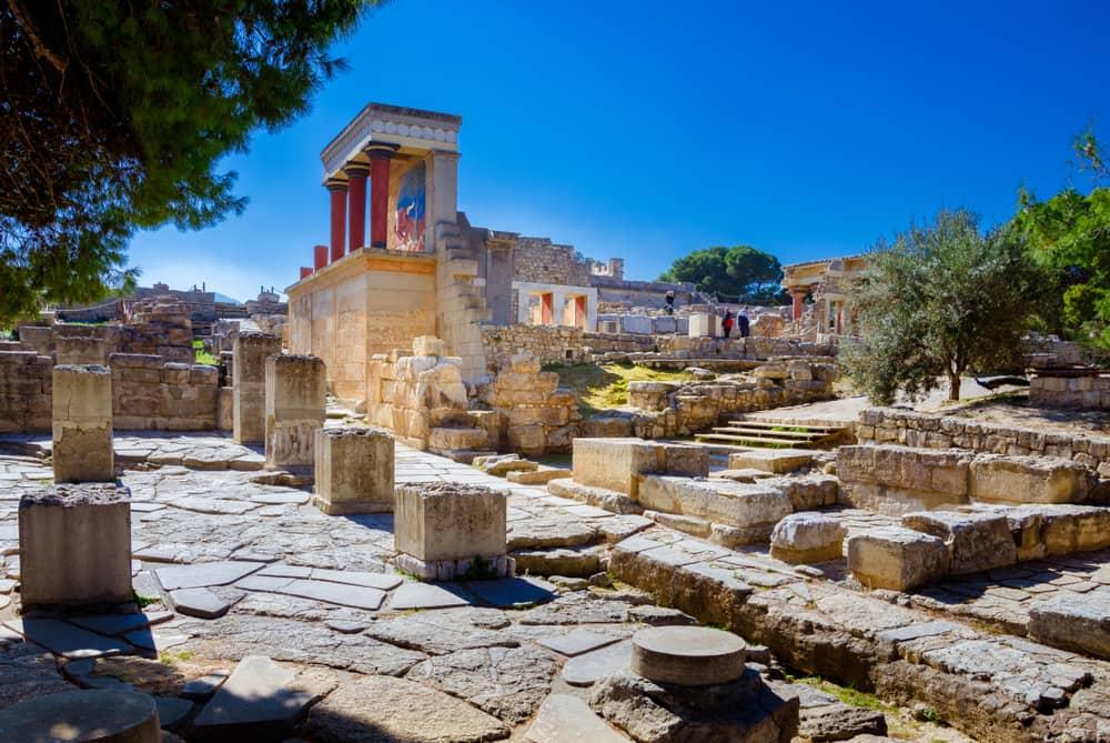 Nordeingang im Knossos-Palast