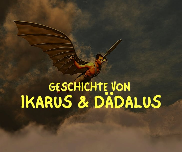 Ikarus und Daedalus Geschichte