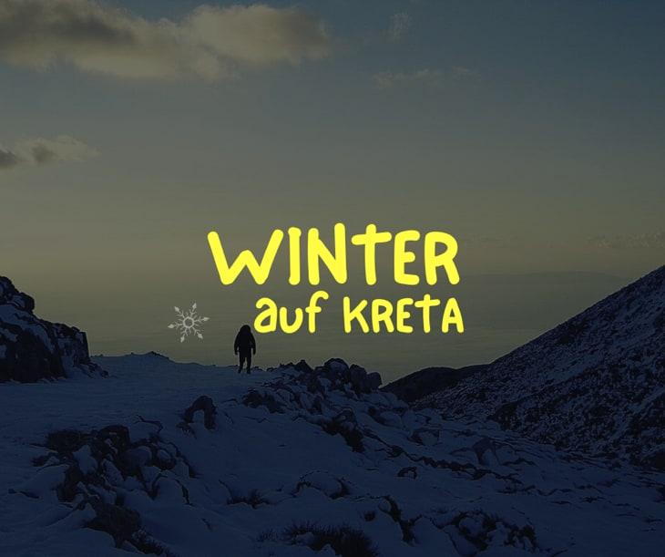 Winter auf Kreta