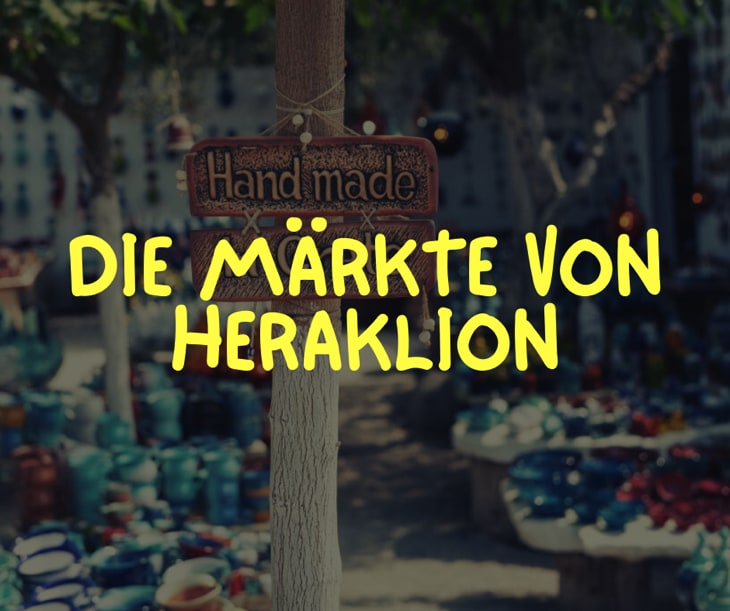 Heraklion Markt