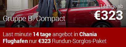 autovermietung kreta chania flughafen angebot fuer Gruppe B